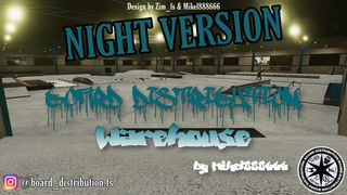 BOARD DISTRIBUTION Warehouse NIGHT by Mikel888666