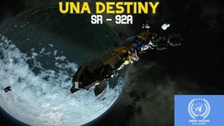 UNA DESTINY Exploration Vessel