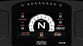 Motec C125 Analogue display