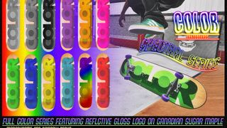 Color Skateboards: Foil Pack