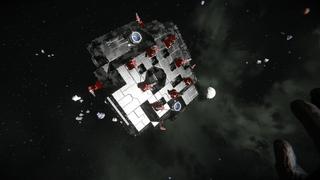 Starfish  self repairing Gunboat