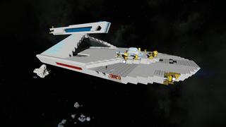 Star Trek - Larson Flight Deck Destroyer