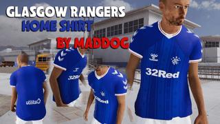 Glasgow Rangers Home Football Shirt by MADDOG