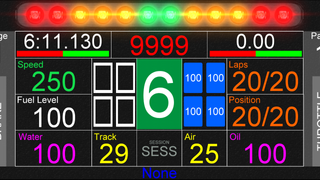 pCars Dash for S10+