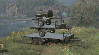 Realistic Weight Off-Road Trailers