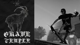 GRAVE TEMPLE Snapback and Shirt