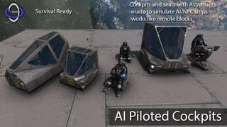 AI Piloted Control Seats