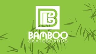 Bamboo Skateboard Deck Drop