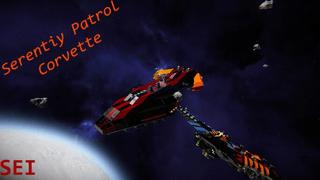 SEI Serenity Patrol Corvette (Modless)
