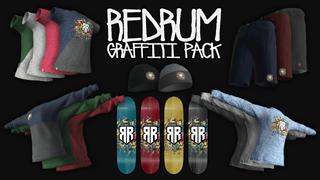 Red Rum Skateboards - Graffiti Pack