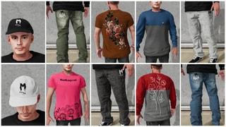 Mahagoni Mixed Clothes Pack 10 Items