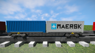 Freight Vagon container-6 V2