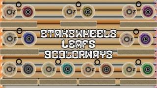 ETAKS WHEELS Leafs 9 Colors