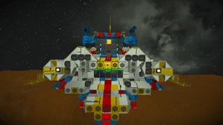 Titan Space Frigate15