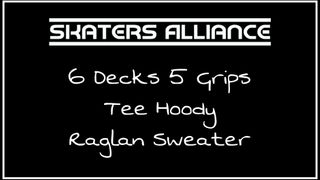 Skaters Alliance Deck and Clothing Drop