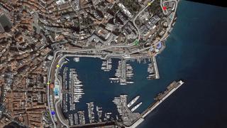 F1 SatMap Monaco
