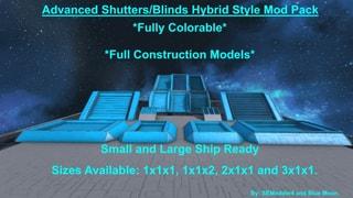 Advanced Shutters & Blinds Hybrid's Mod Pack