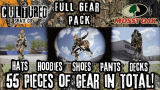 Cultured X Mossy Oak Full Gear Pack