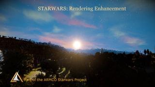Starwars Rendering (Skybox)