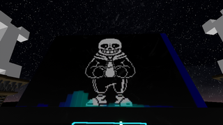 Sans fight And omega flowey