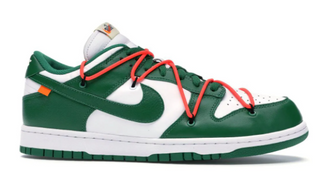 Nike OFF-WHITE x Dunk Low 'Pine Green'
