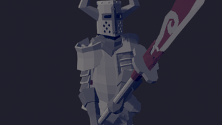 Halberd Black Knight