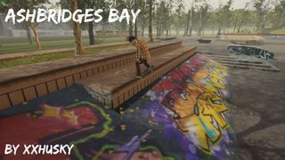 AshBridges Bay Skatepark By xxHusky
