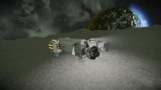 U.E.R HammerHead Mining Ship