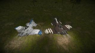 GRVYRD Thunderbolt Heavy Fighter
