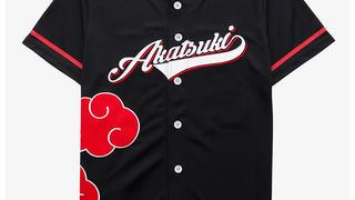 Akatsuki baseball jersey over sweater