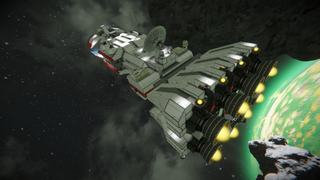 Star Wars Tantive IV style freighter v2