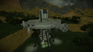 Planetary Landing Station ****]