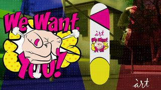 àrt Skateboards WE WANT YOU