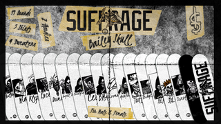 Suffrage Skateboards: Bailey Skull Pack