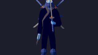 Ninja samurai.