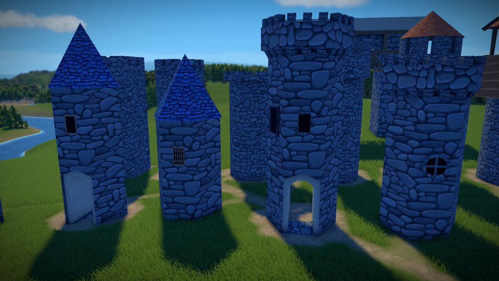 Castle Set Mod For Foundation Mod Io