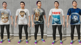 [Female] Cat Shirt Collection