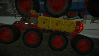 Small cargo rover