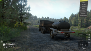 Scout fuel trailer for trucks