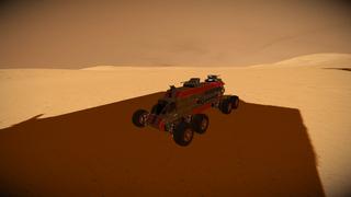 Cargo rover assault