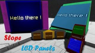 Slope LCD Panels Mod Pack
