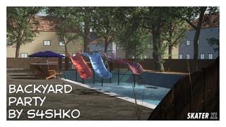 Backyard Party by s4shko