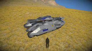 RCSP vangard tank mk2