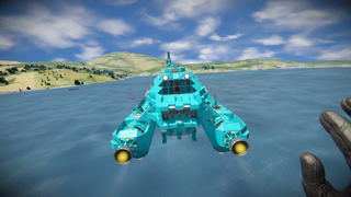 Orbital Xbox (Modified Splitsie Ship)