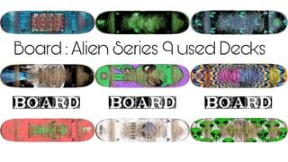 Board NEWnUSED ALIEN SERIES 18 Decks
