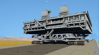 NASA Crawler & Mobile Launcher Platform (Vanilla)