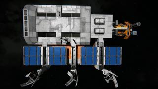 Hangar Garage and production