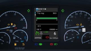 Freightliner Cascadia ATS V2 Smartphone Dashboard