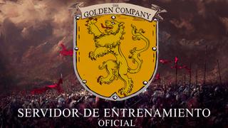 Mapa de entrenamiento - The Golden Company