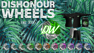 Dishonour Wheels Palm Cage Series